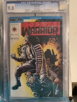 Eternal Warrior #1 CGC Graded 9.8