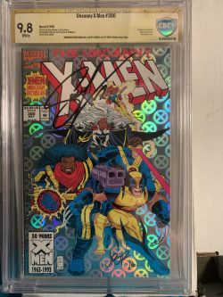 Uncanny X-men #300 CBCS Graded 9.8 Signed by John Romita Jr., Scott Lobdell