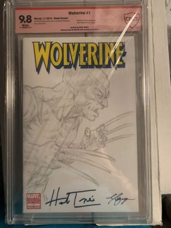 Wolverine #1 CBCS Graded 9.8 Signed by Herb Trempe and Vo Nguyen