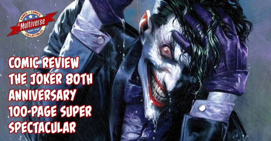 Joker 80th Anniversary 100 Page Super Spectacular Banner