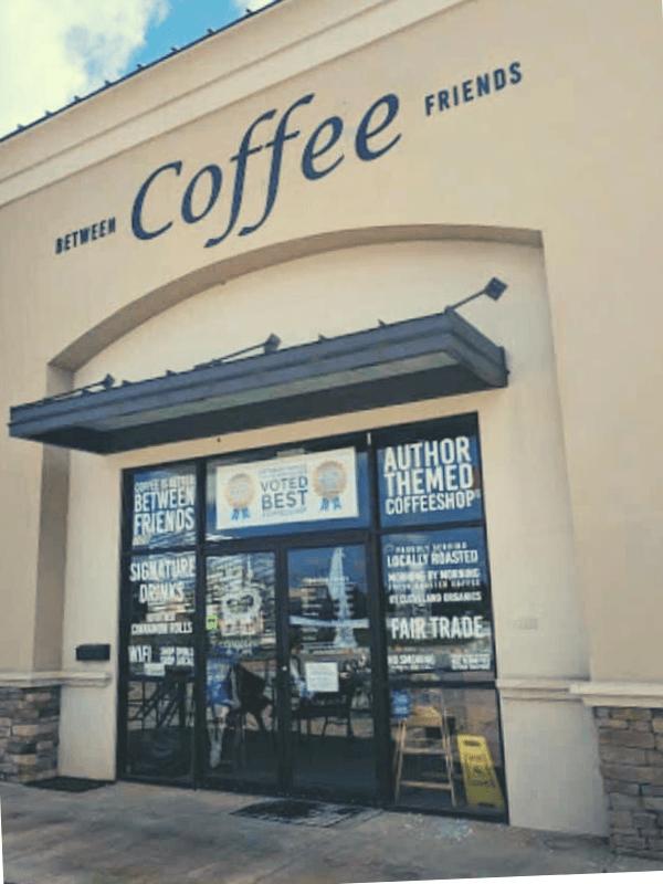 Between Friends Coffee Shop Warner Robins, Ga.