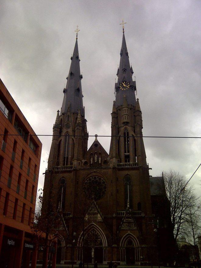 Downtown Einhoven, Netherlands
