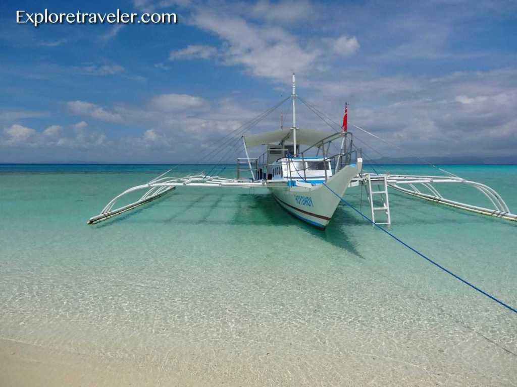 Cebu Scuba Boat