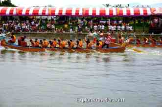 Dragon Boat Races in Nan Liao Port Taiwan is an ancient Chinese sport alive with tradition