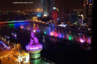Water Dance was magical at Kaohsiung Lantern Festival in Taiwan