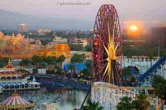 Overlooking magical Anaheim California