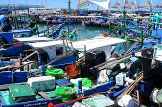 Fugang Fishing Harbor in Southern Taiwan is awake with activity! Daily it provides a ferry connection to Green Island and Orchid Island.