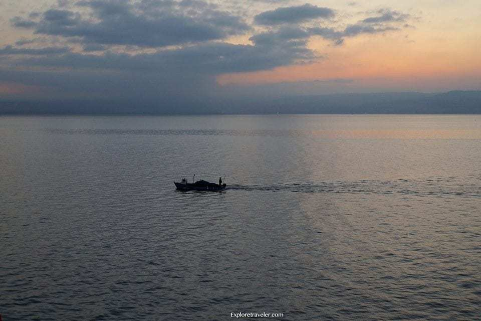 Fishing the Galilean Sea