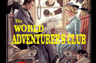 World Adventurer Club – Episode1 Papua Escape - A group of people on a newspaper - Guy H. Lillian III