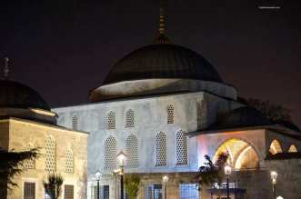 The Haseki Hürrem Sultan Hamamı In Istanbul Turkey - A large white building - Mosque