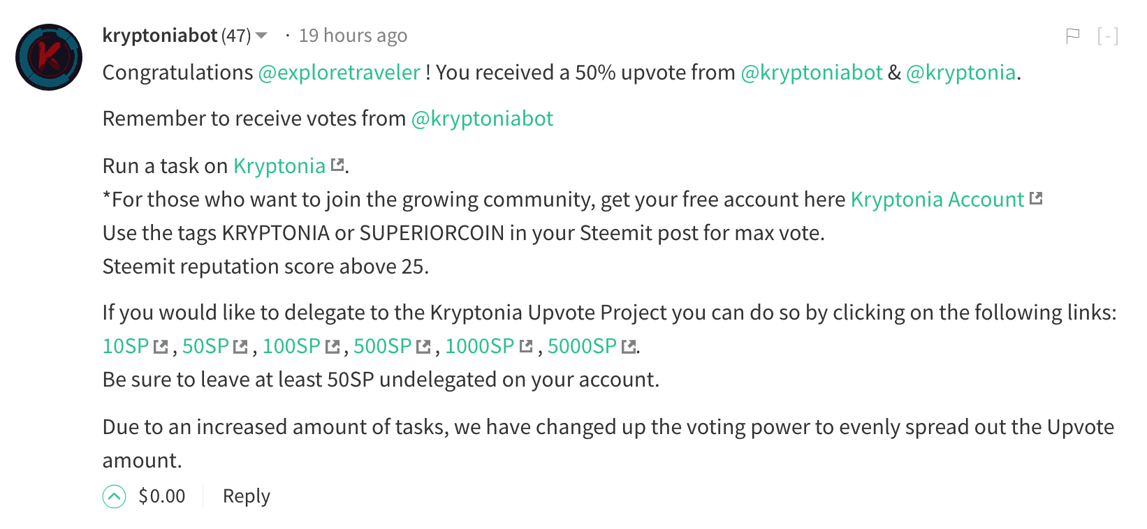 Kryptonia bot