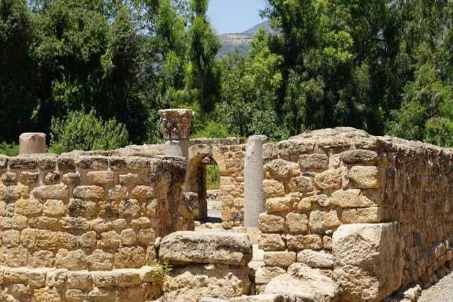 Agrippa Palace In Caesarea Philippi 4