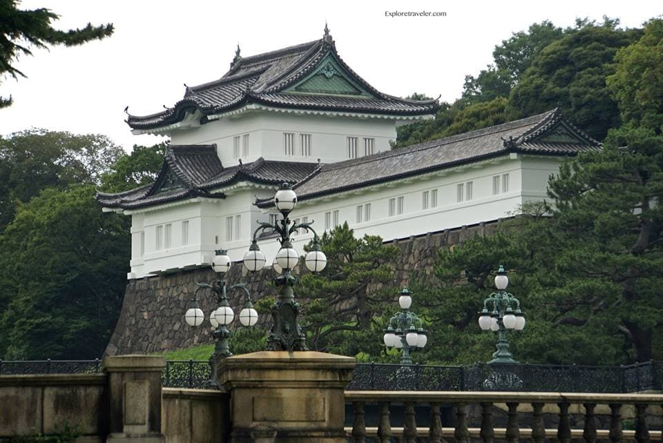The Imperial Palace Of Tokyo Japan
