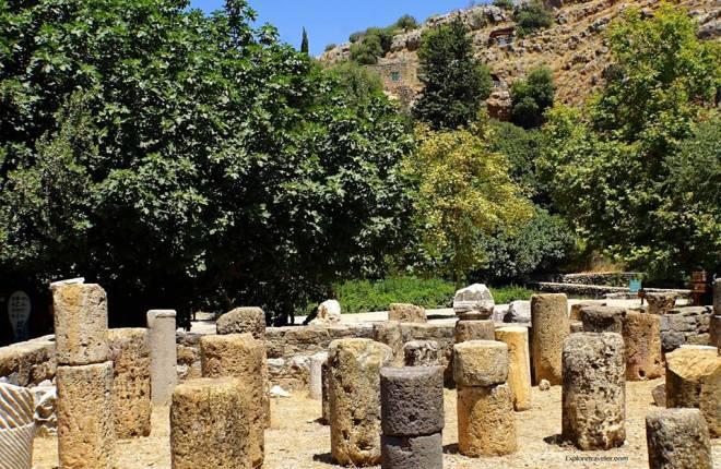 Agrippa Palace In Caesarea Philippi 1