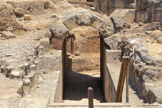 Agrippa Palace In Caesarea Philippi 5