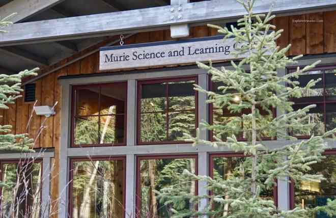 Murie Science Learning Center Entrance