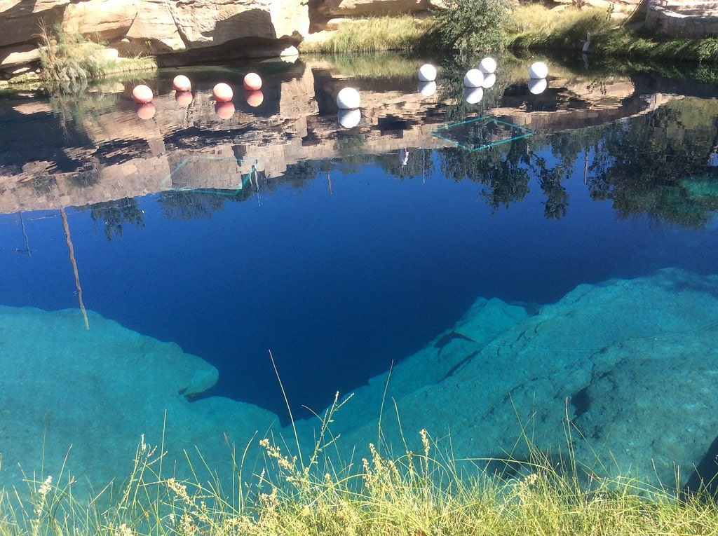 Blue Hole new mexico