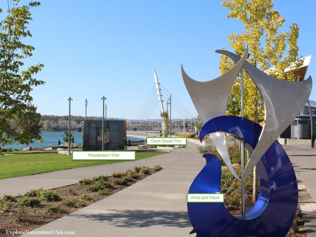 public art at Waterfront park