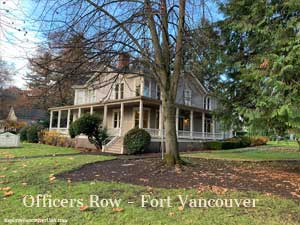Another beautiful home on Officers Row