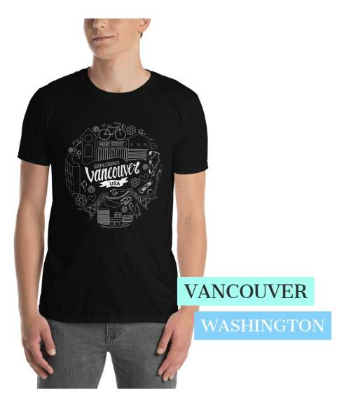 Vancouver Washington T-Shirt Graphic