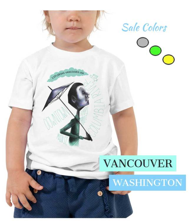 Kids Vancouver Searcher T shirts