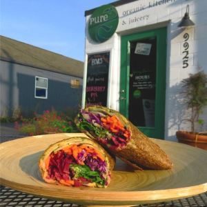 Pure Organic Kitchen Juicery on Vashon Island