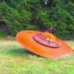 Vashon Island crashed UFO