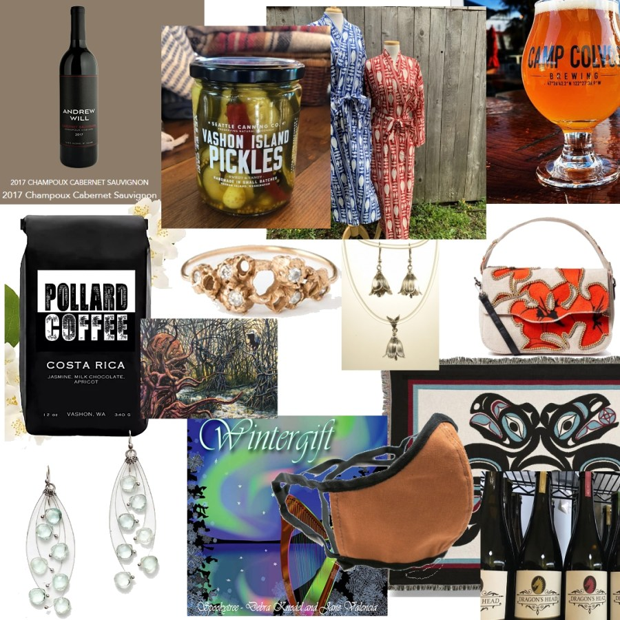 Vashon Island products sold online delivered all over the world