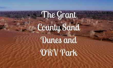 The Grant County Sand Dunes and ORV Park