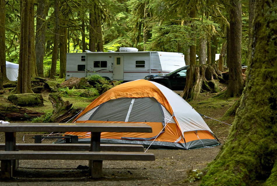 Camping in Washington State