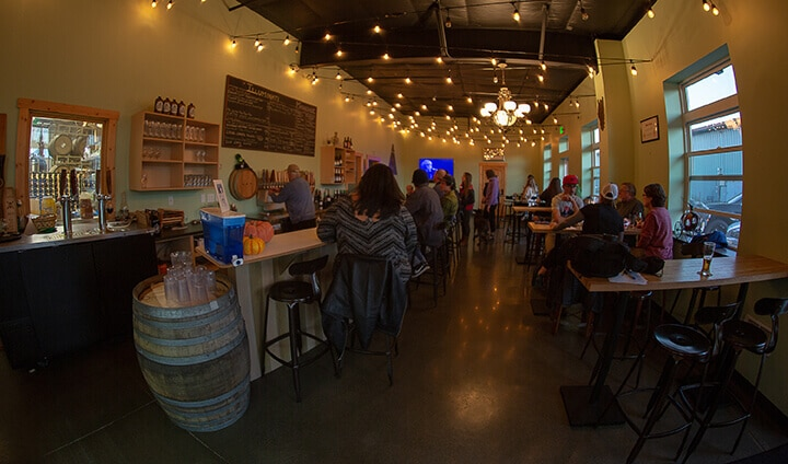 Masquerade Wine Company and Illuminati Brewing photo of interior