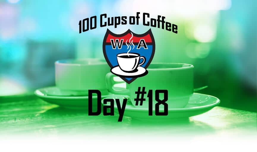 Topside Coffee Cabin Steilacoom WA, Day 18 of the 100 Cups of Coffee in 100 Days Project