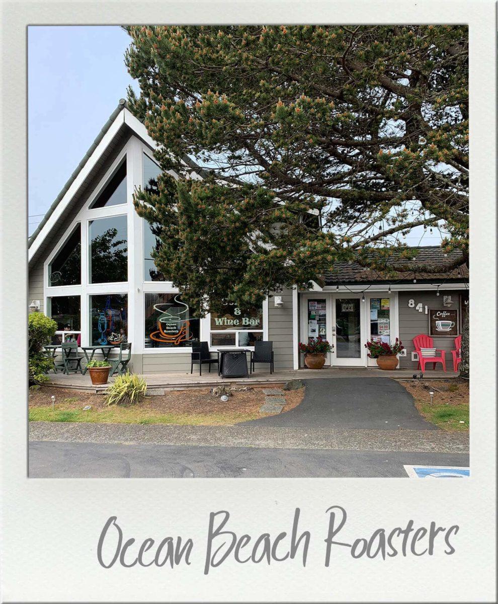 View of Ocean Beach Roasters Building