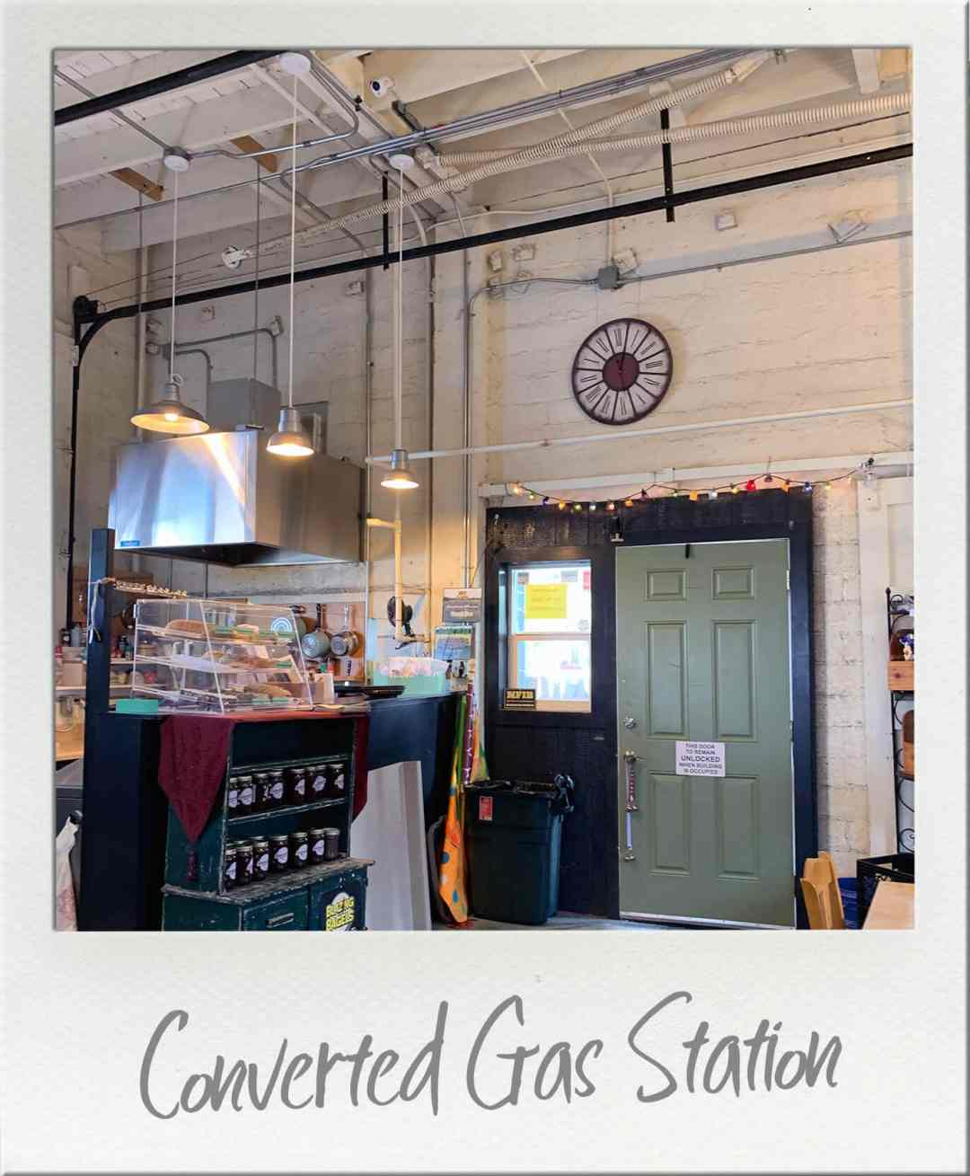 Sage Coffeehouse Interior showing front door