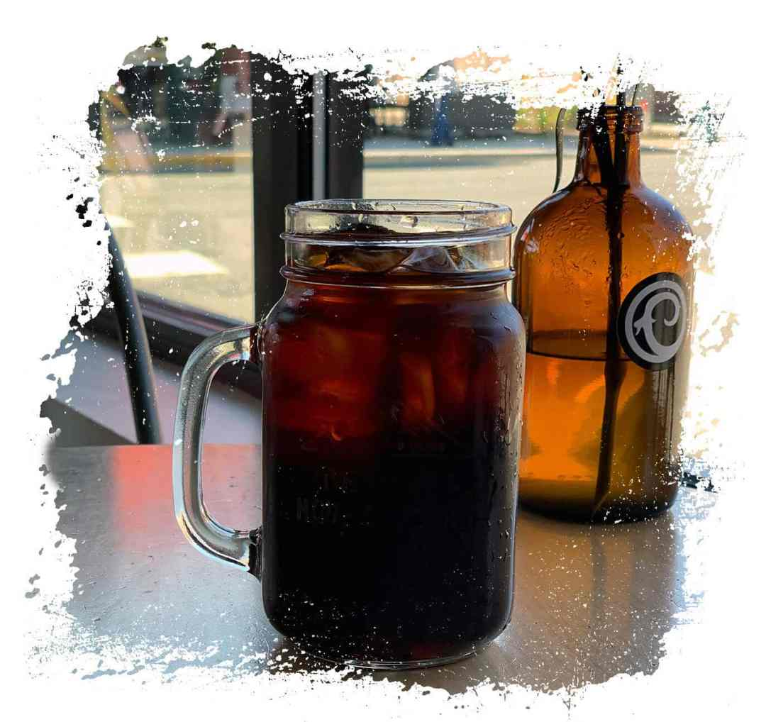 Craft.19 Cold Brew Coffee in a Glass Jar