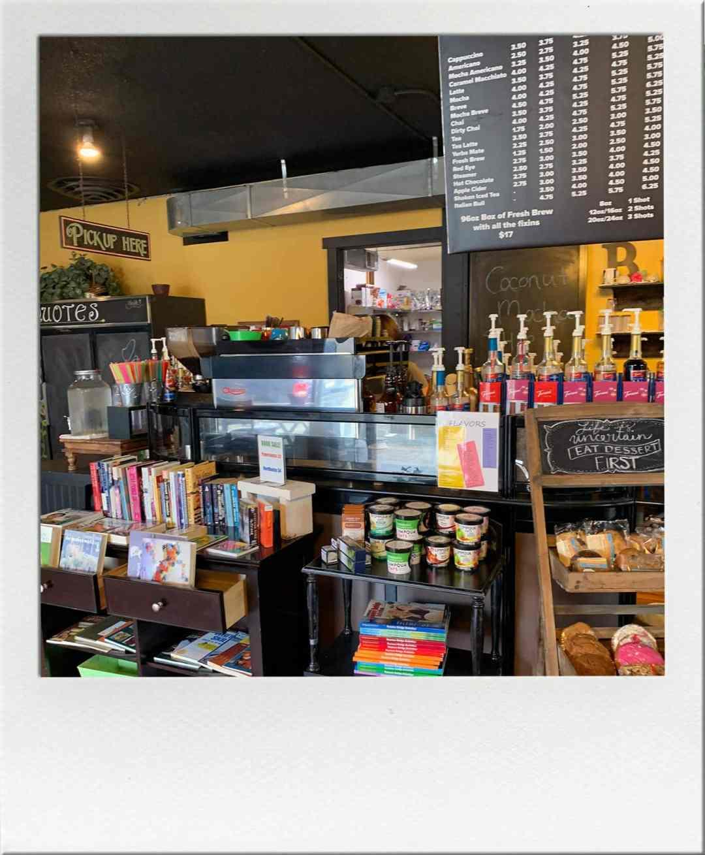 Espresso Machine at The Bookery