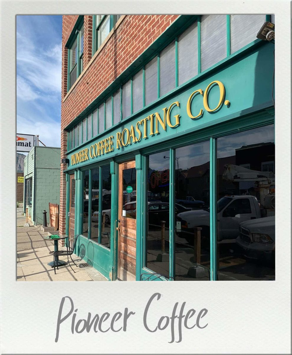 Pioneer Coffee Roasting Company Cle Elum Washington