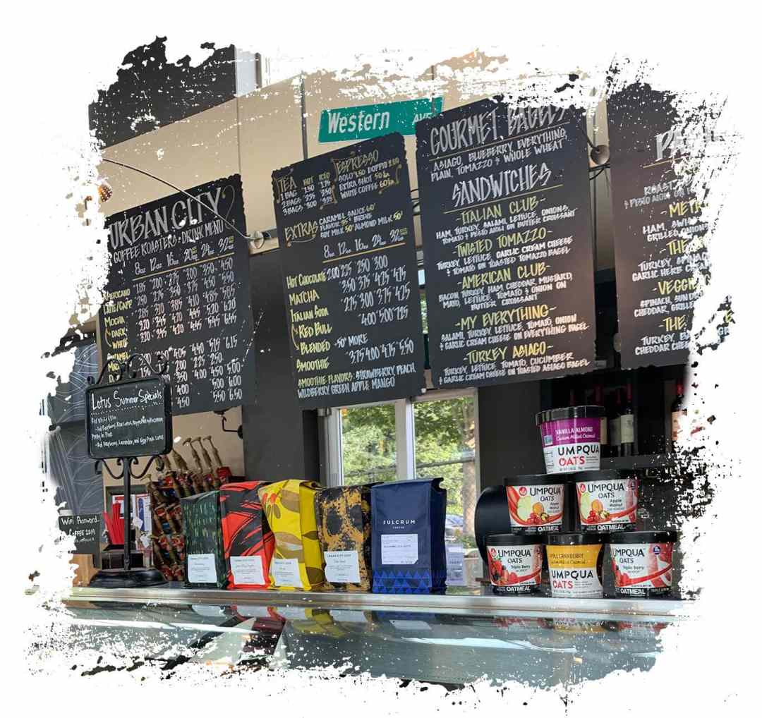 Urban Coffee Company Menu Boards
