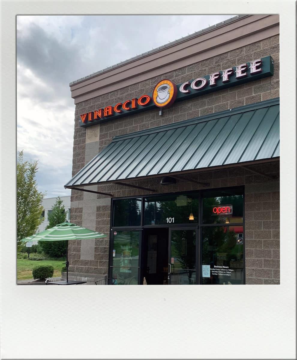 Vinaccio Coffee Outside of building