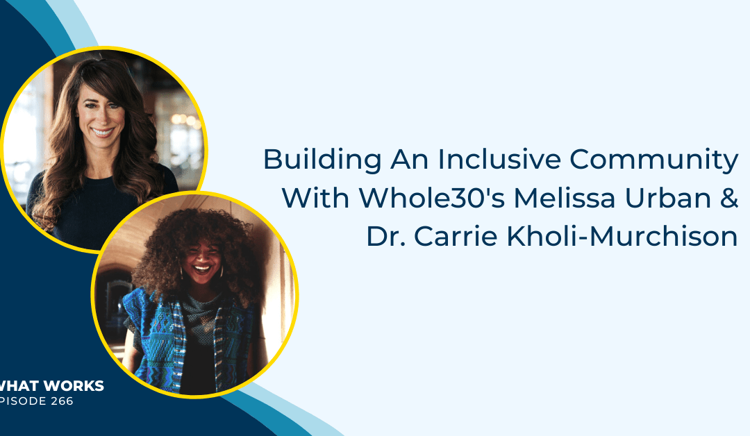 EP 266: Building An Inclusive Community With Whole30's Melissa Urban & Dr. Carrie Kholi-Murchison