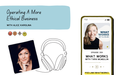 EP 359: Operating An Ethical Business With the ethical move Founder Alice Karolina