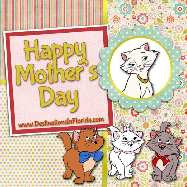 Mothers Day Disney Cards