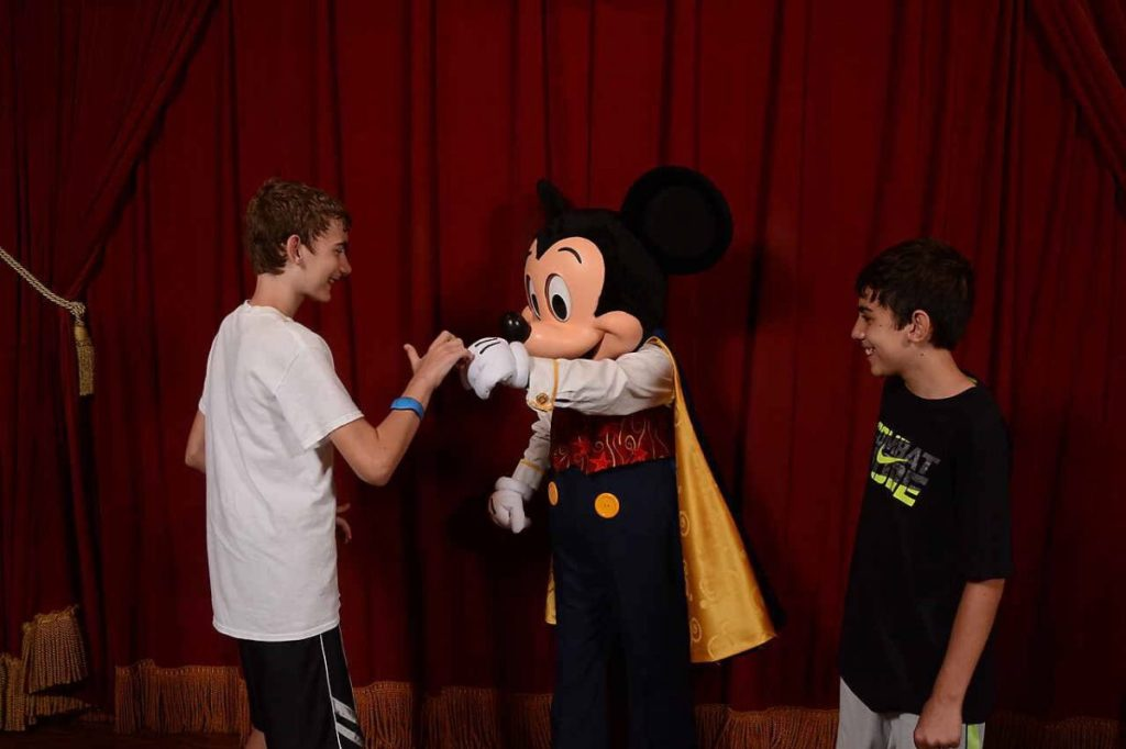 Mickey at Town Square Theater