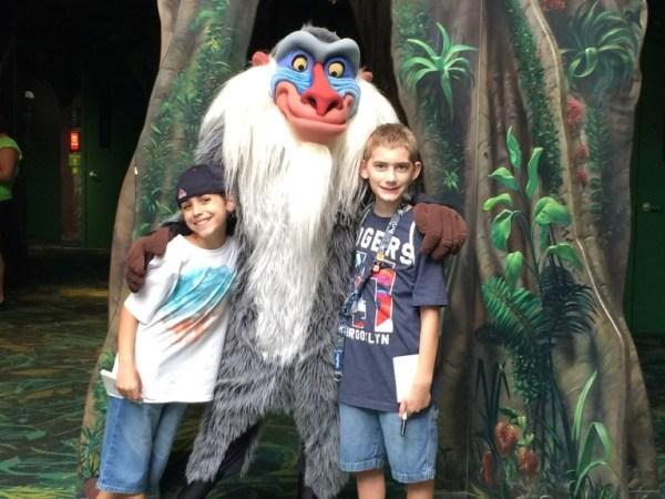 Rafiki Meet and Greet at Animal Kingdom