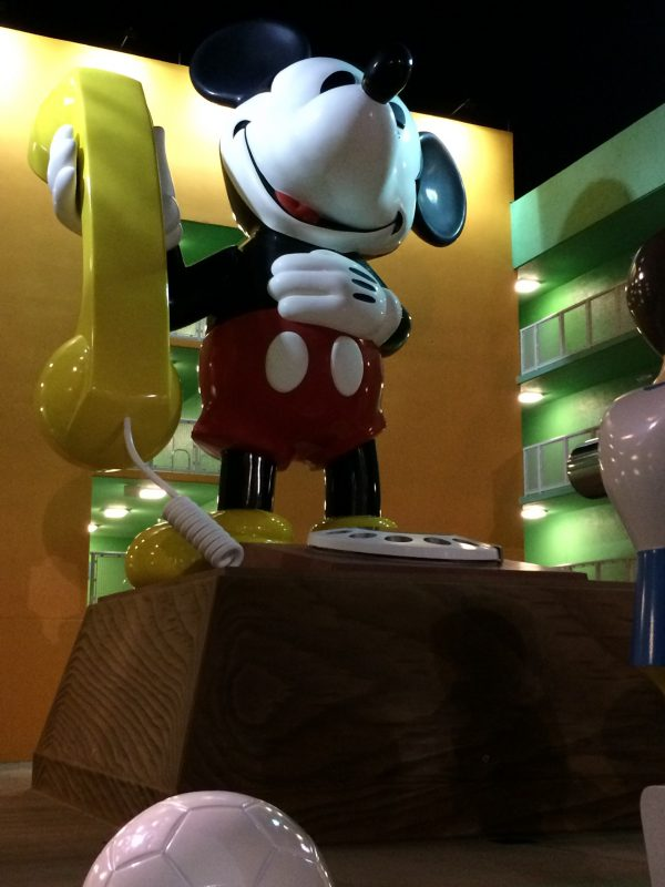 Giant Mickey Mouse Phone at Pop Century