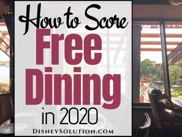 How to score Free Dining in 2020