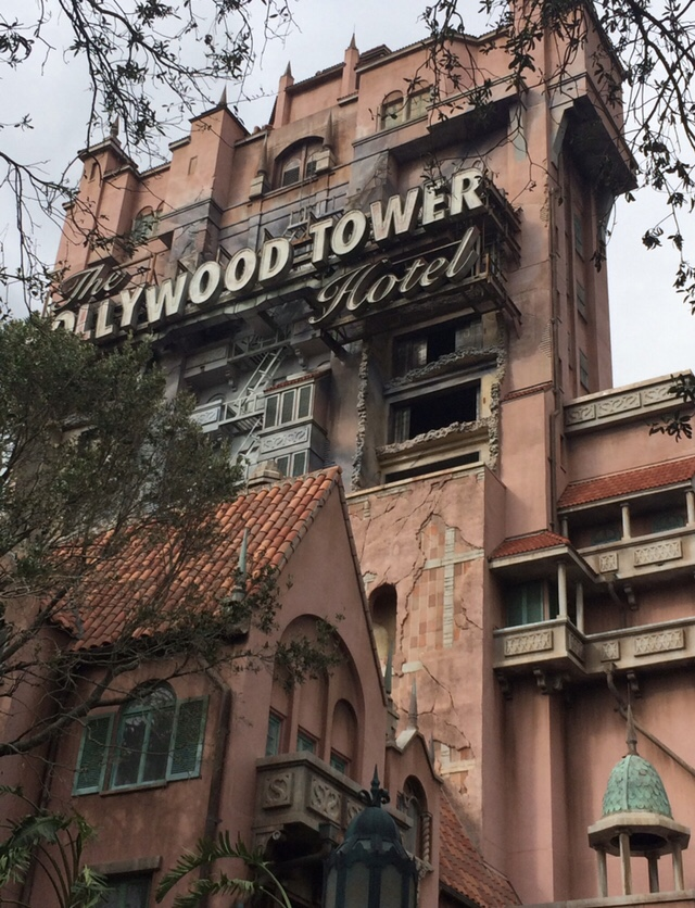 Exterior of Tower of Terror