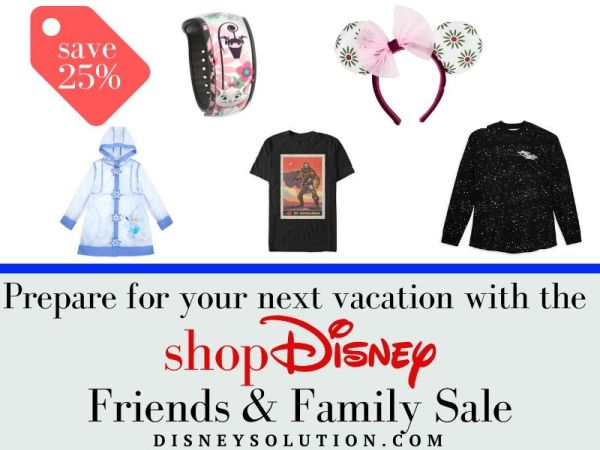 Prepare for your next vacation with the shopDisney Sale