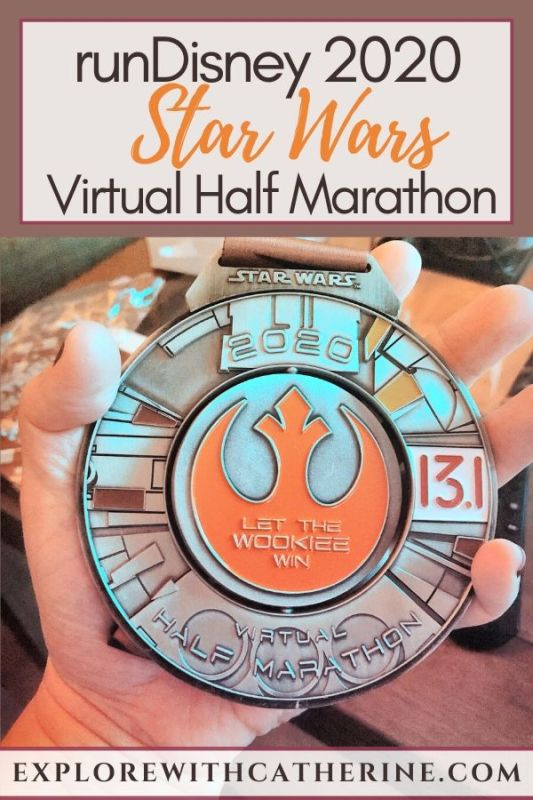 runDisney 2020 Star Wars Virtual Half Marathon