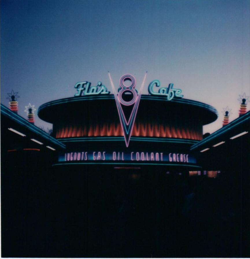 Flo's 8 Cafe at Disney's California Adventure